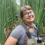 Paige Kleindl defends her thesis investigating relationship of nutrients, plants, and algae